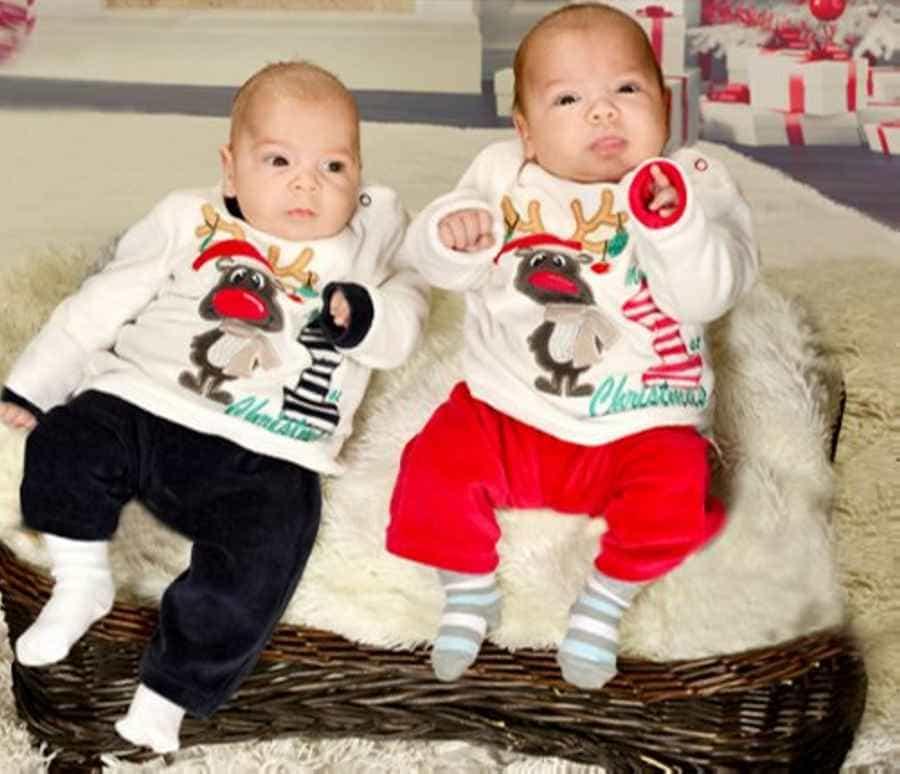 първите си близнаци